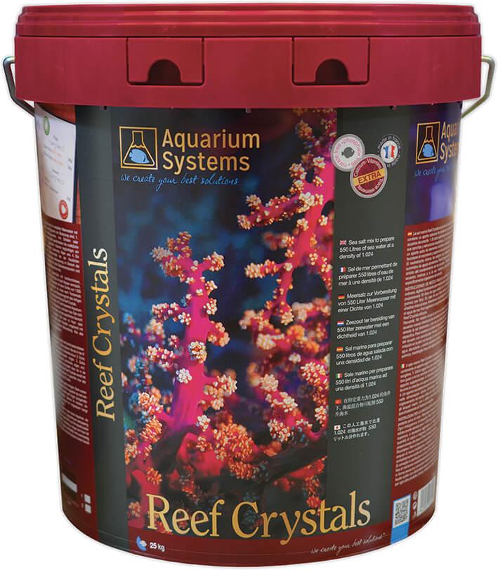 Обогащенная морская соль для аквариума Reef Crystals Aquarium Systems