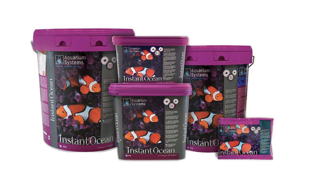 Базовая морская соль для аквариума Instant Ocean Aquarium Systems